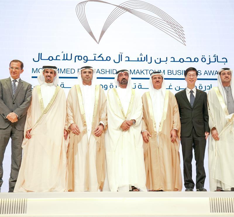 His Highness Sheikh Mohammed bin Rashid Al Maktoum - Ahmed bin Saeed Honours Winners Of Mohammed Bin Rashid Al Maktoum Business Awards