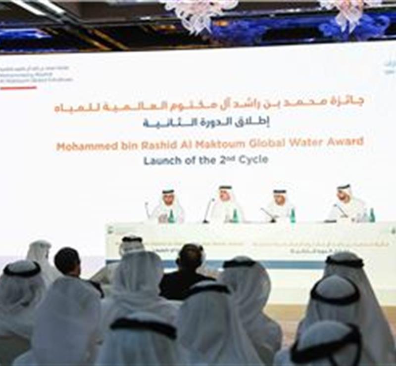 His Highness Sheikh Mohammed bin Rashid Al Maktoum - Suqia announces details of 2nd Mohammed bin Rashid Al Maktoum Global Water Award, with prizes totalling USD1 million