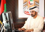 صاحب السمو الشيخ محمد بن راشد آل مكتوم - حوار محمد بن راشد مع الصحفيين