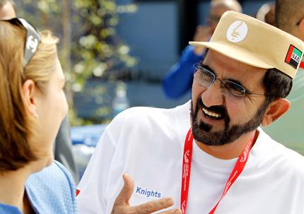 His Highness Sheikh Mohammed bin Rashid Al Maktoum - Mohammed's interview with Bloomberg Television