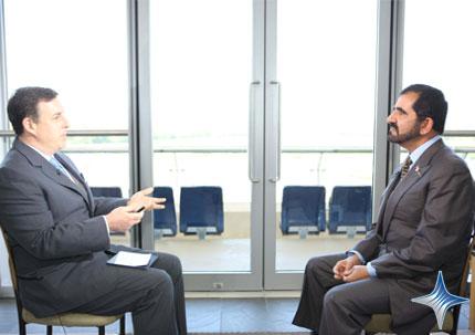 His Highness Sheikh Mohammed bin Rashid Al Maktoum - Sheikh Mohammed speaks to CNN