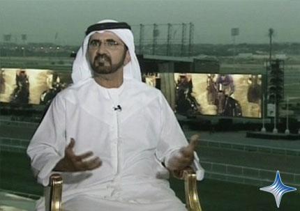 """صاحب السمو الشيخ محمد بن راشد آل مكتوم - حوار محمد بن راشد مع قناة """"سي ان ان"""" الإخبارية"""