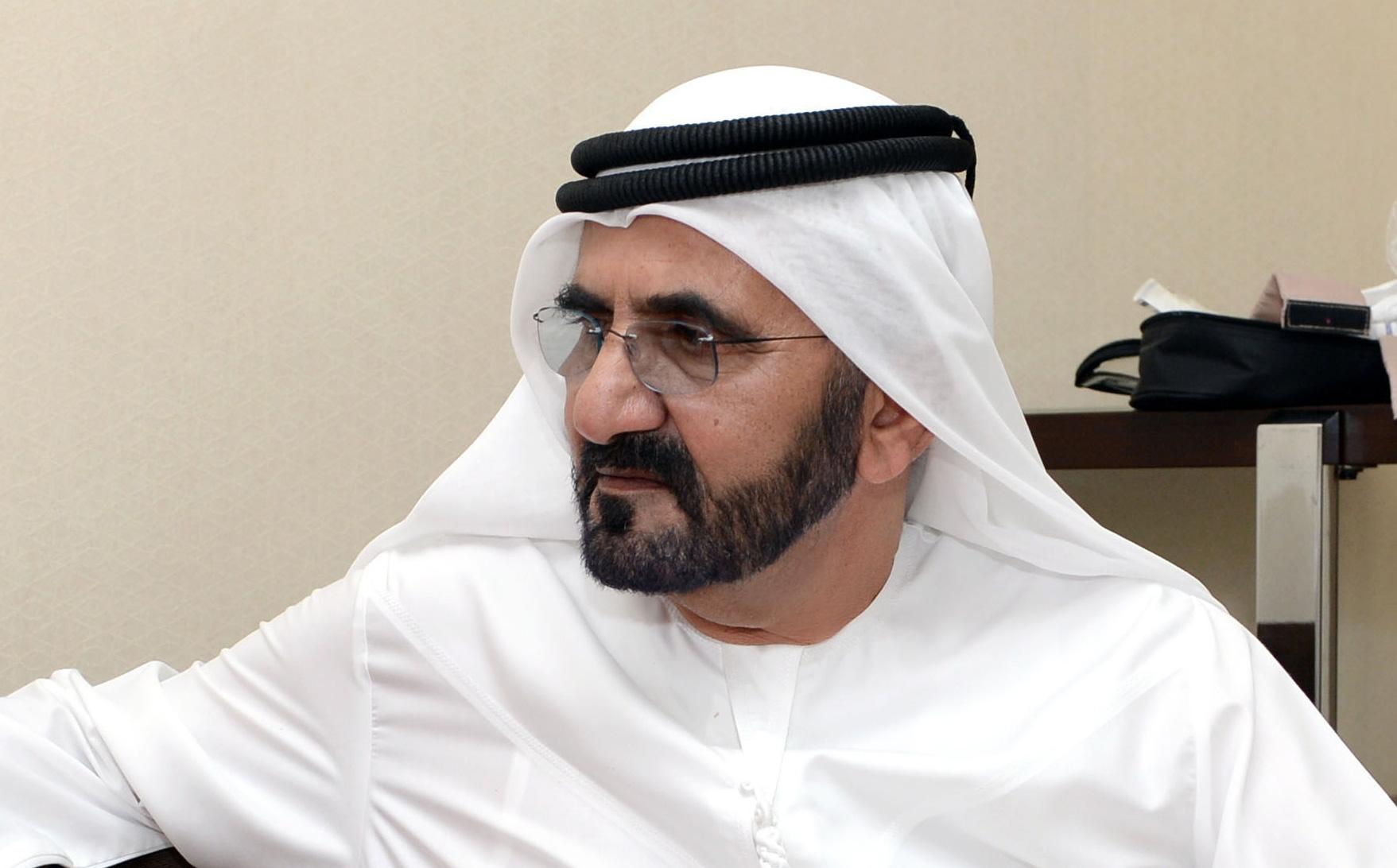 صاحب السمو الشيخ محمد بن راشد آل مكتوم - حوار محمد بن راشد مع مجلة درع الوطن