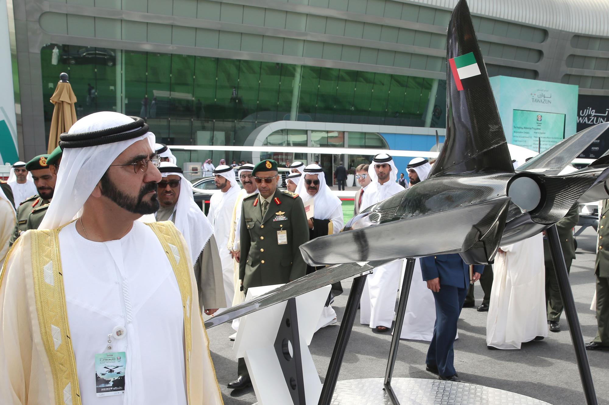 His Highness Sheikh Mohammed bin Rashid Al Maktoum - Sheikh Mohammed's statement to WAM on the occasion of IDEX 2013