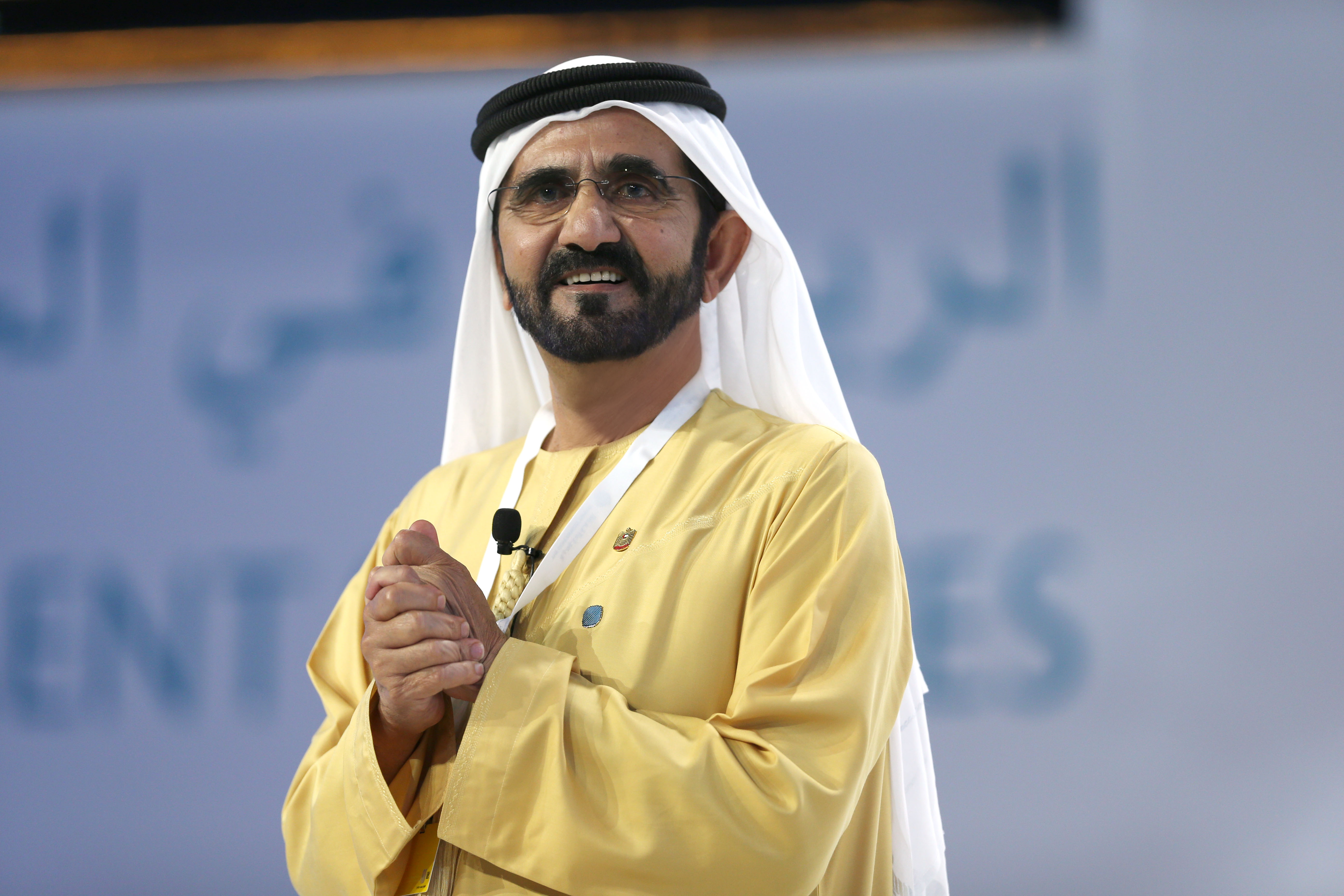 His Highness Sheikh Mohammed bin Rashid Al Maktoum - Mohammed bin Rashid's discussion with Emiratis and Arab citizens at Government Summit