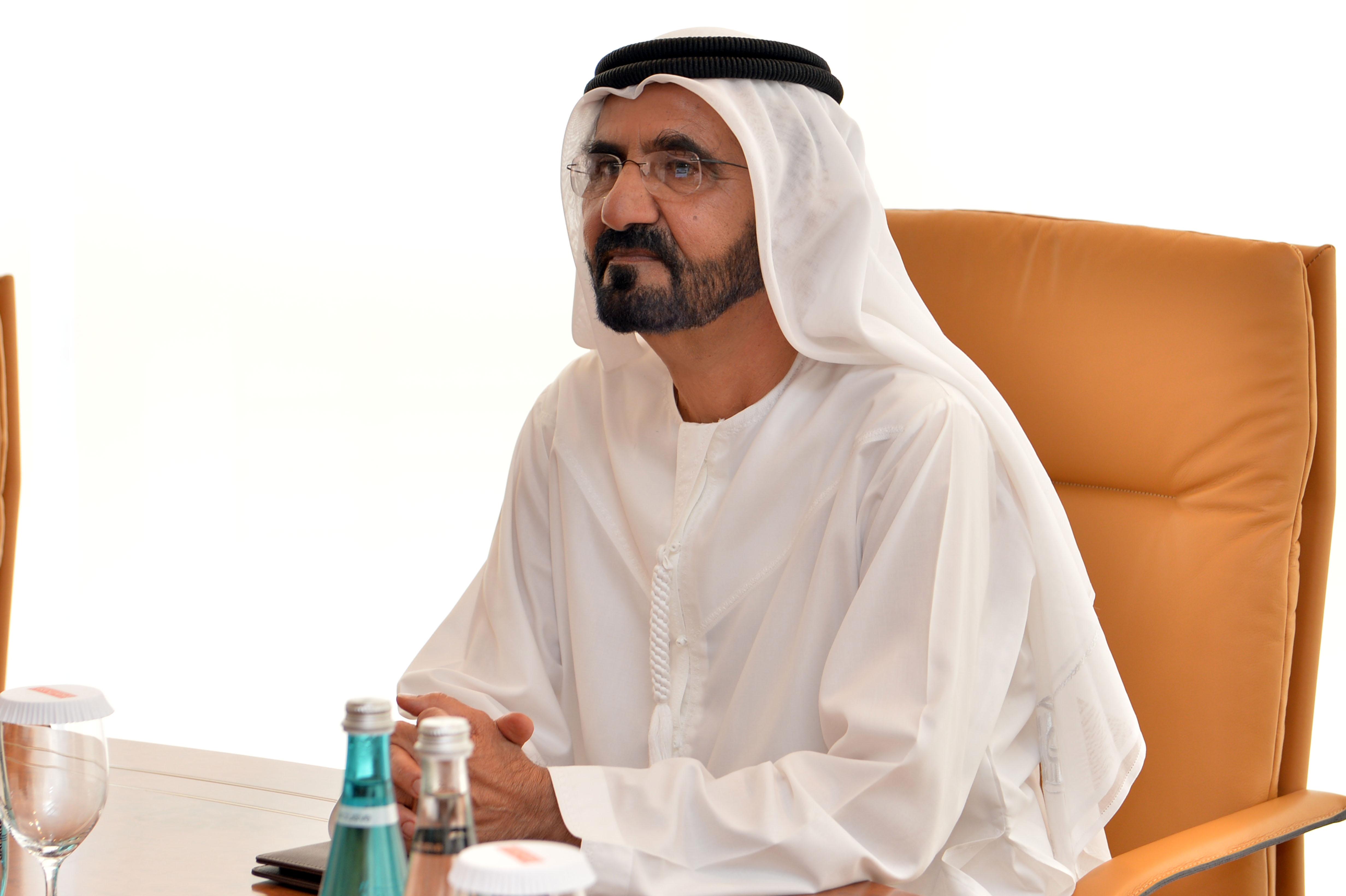 صاحب السمو الشيخ محمد بن راشد آل مكتوم - منك نتعلم الإيجابية