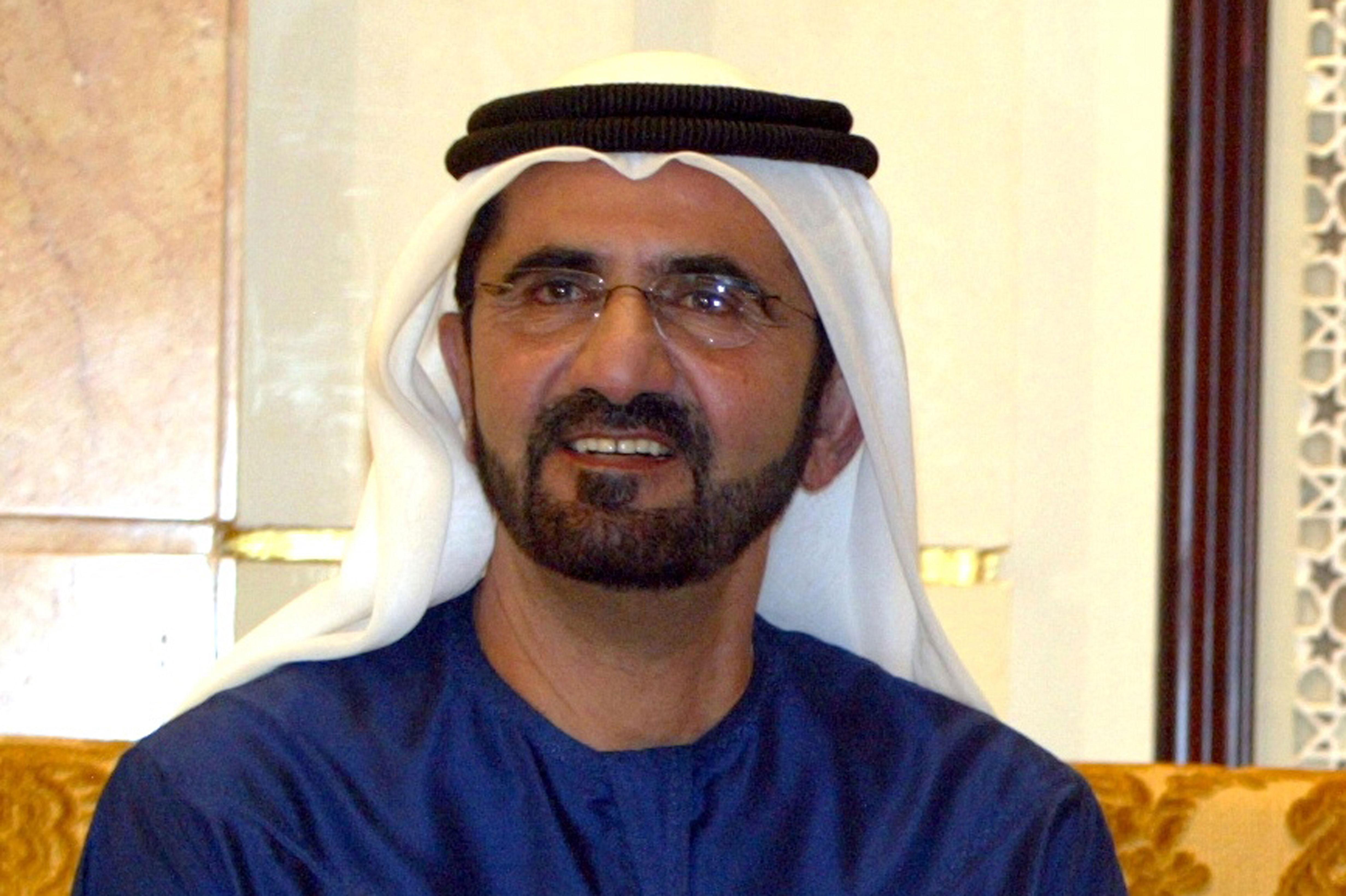 صاحب السمو الشيخ محمد بن راشد آل مكتوم - وطن السعادة والإيجابية