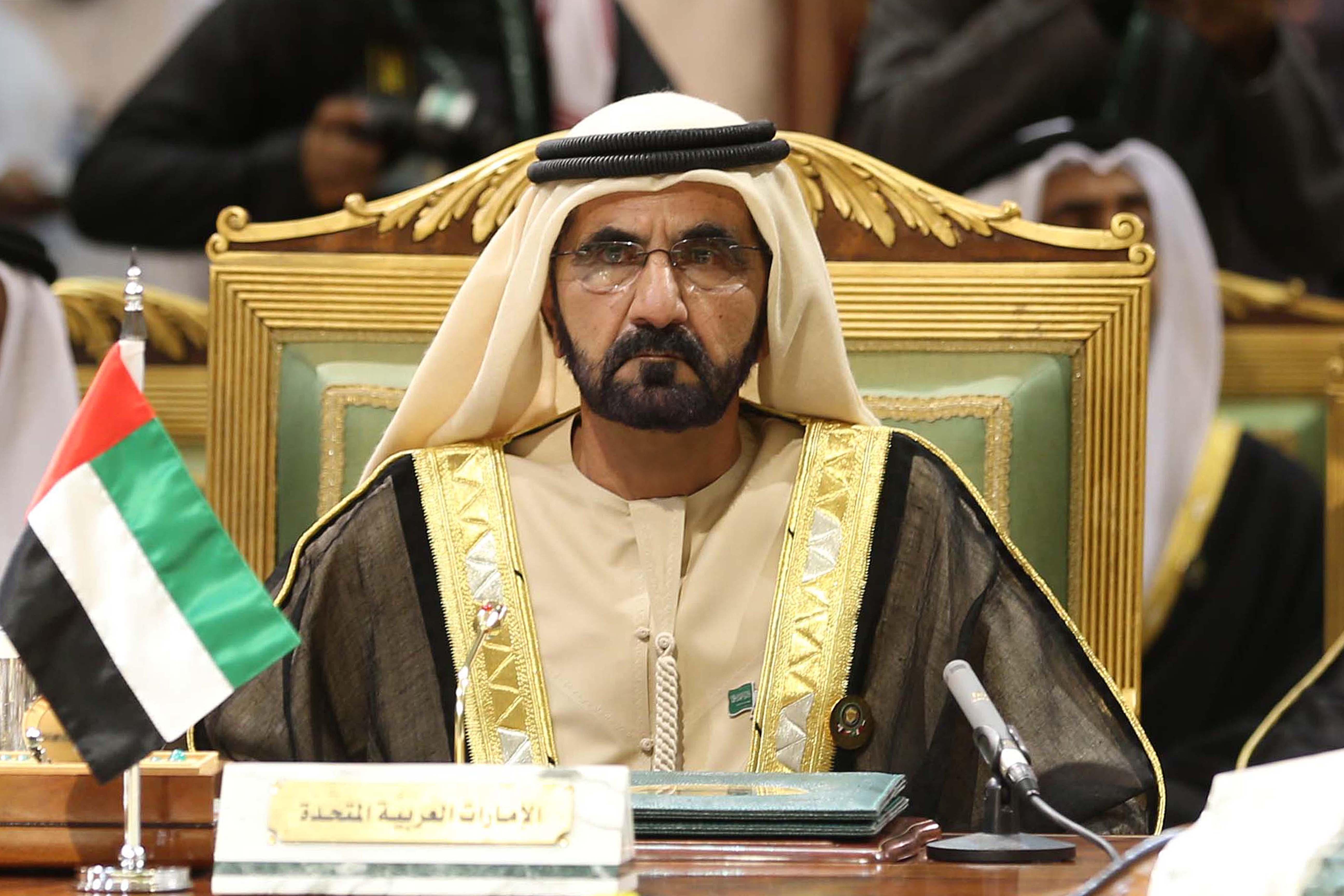 صاحب السمو الشيخ محمد بن راشد آل مكتوم - محمد بن راشد قائد مؤثر عالمياً