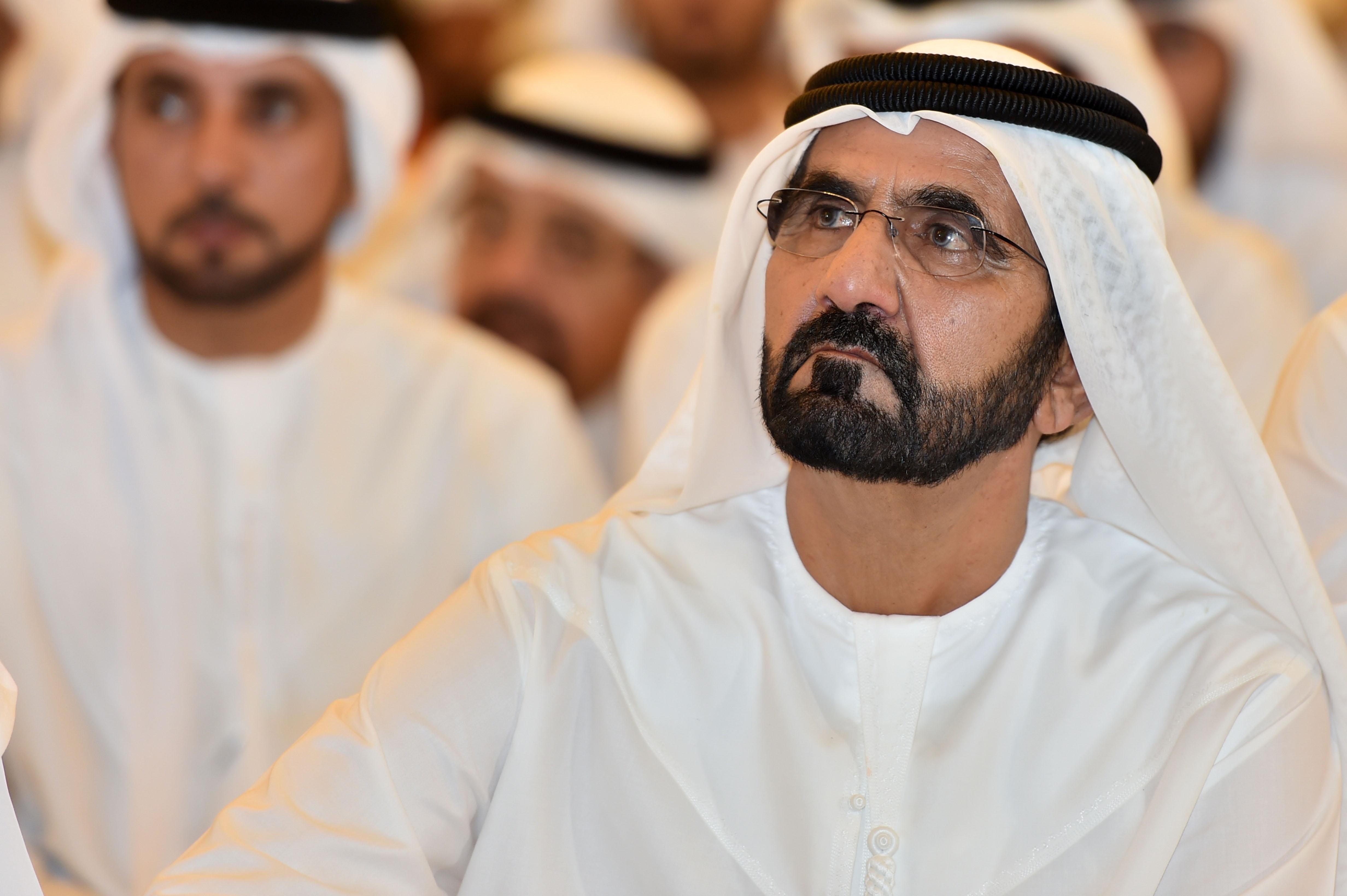 صاحب السمو الشيخ محمد بن راشد آل مكتوم - دمعة الشيخ محمد