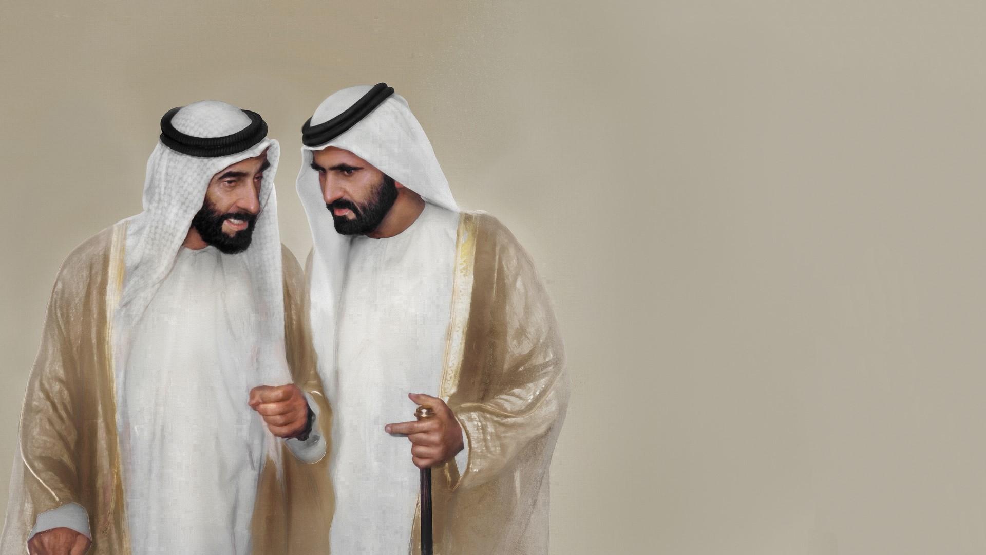 صاحب السمو الشيخ محمد بن راشد آل مكتوم - محمد بن راشد.. يكتب بمداد القلب قصيدة حب وفخر بزايد