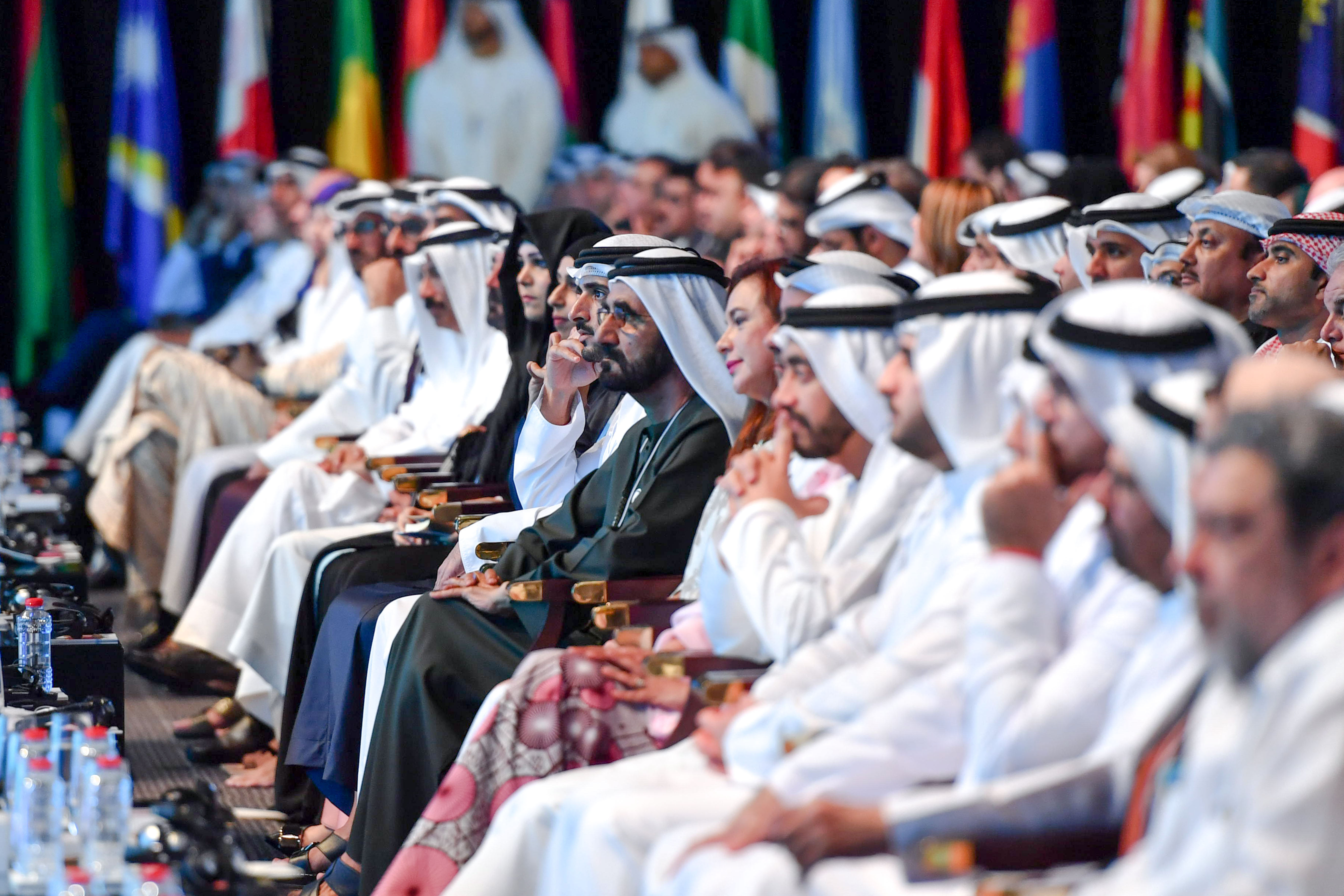 His Highness Sheikh Mohammed bin Rashid Al Maktoum - VP attends Pope Francis's video-message to world leaders