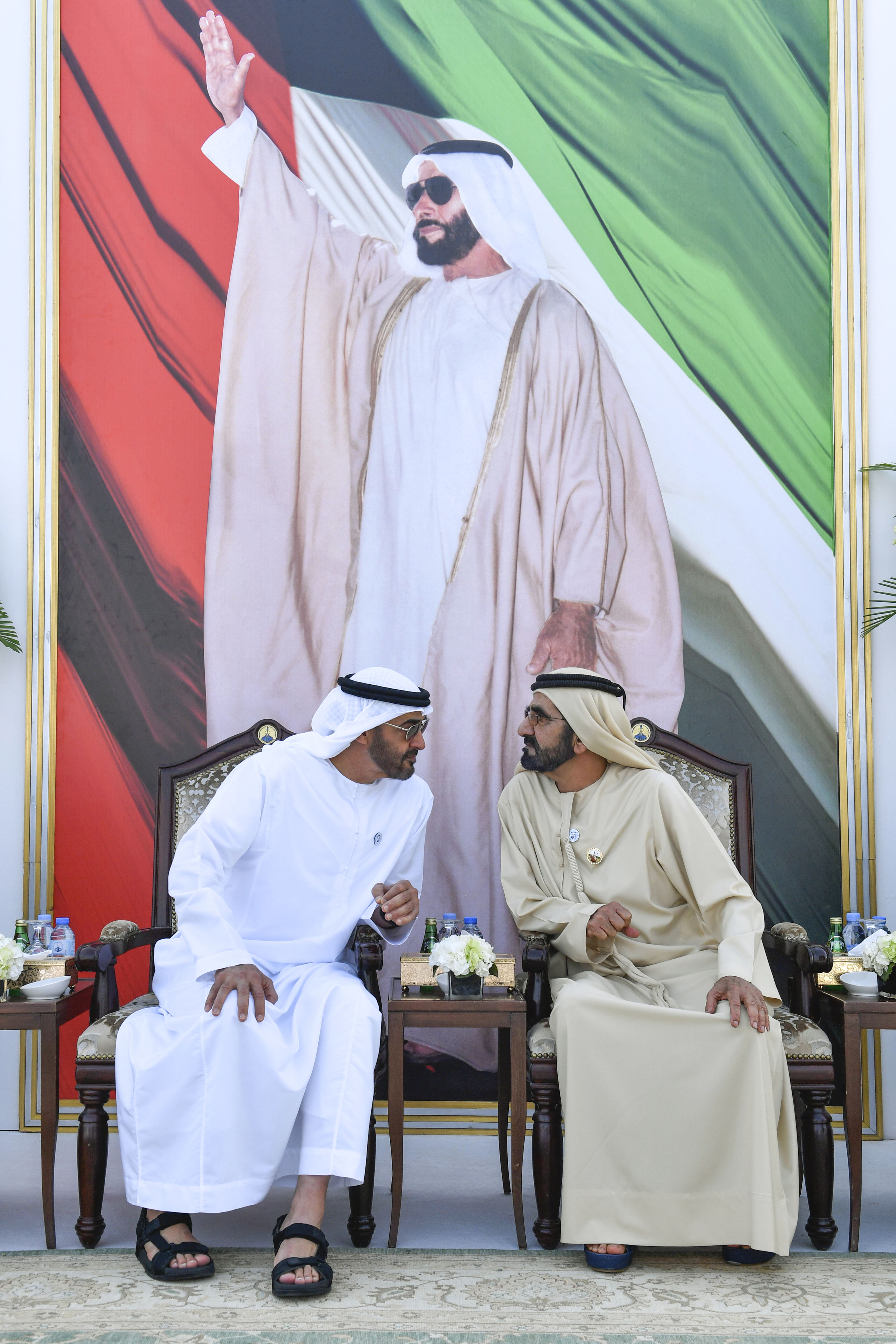 His Highness Sheikh Mohammed bin Rashid Al Maktoum - Mohammed bin Rashid, Mohamed bin Zayed: People are centre of government work