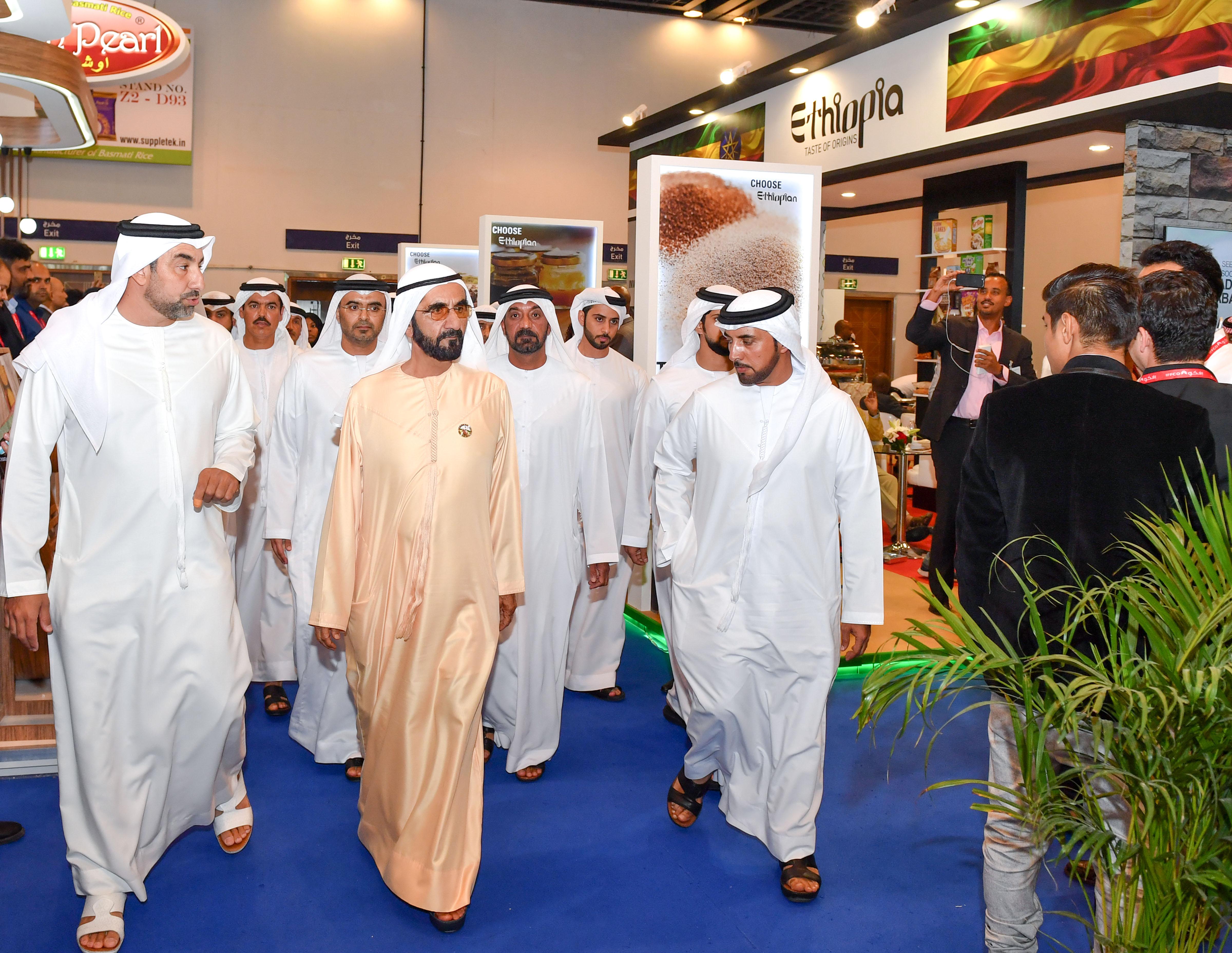 His Highness Sheikh Mohammed bin Rashid Al Maktoum - Mohammed bin Rashid visits Gulfood 2019