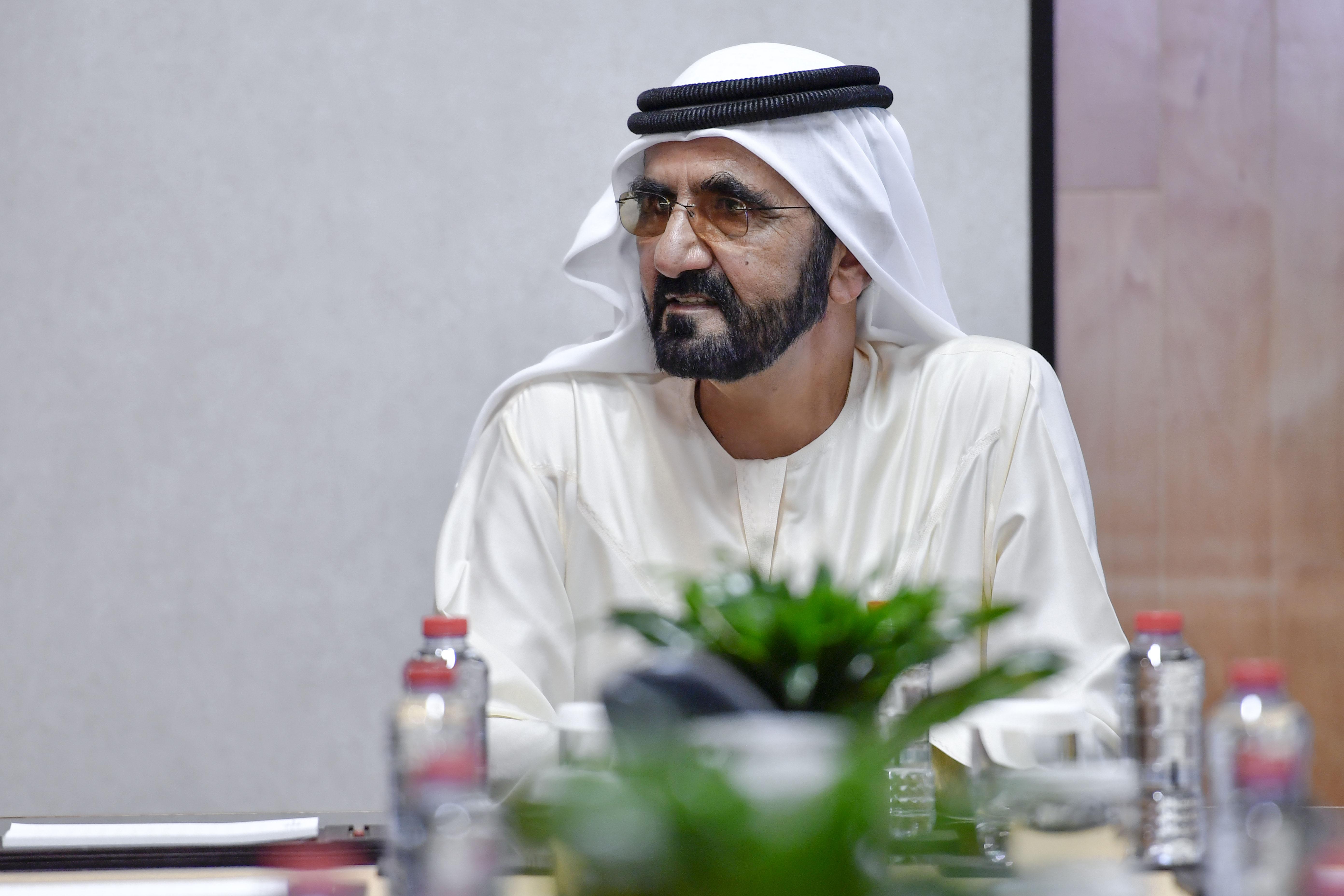 صاحب السمو الشيخ محمد بن راشد آل مكتوم - محمد بن راشد يُصدر مرسوماً بتعيين منصور بن محمد رئيساً لمجلس دبي الرياضي