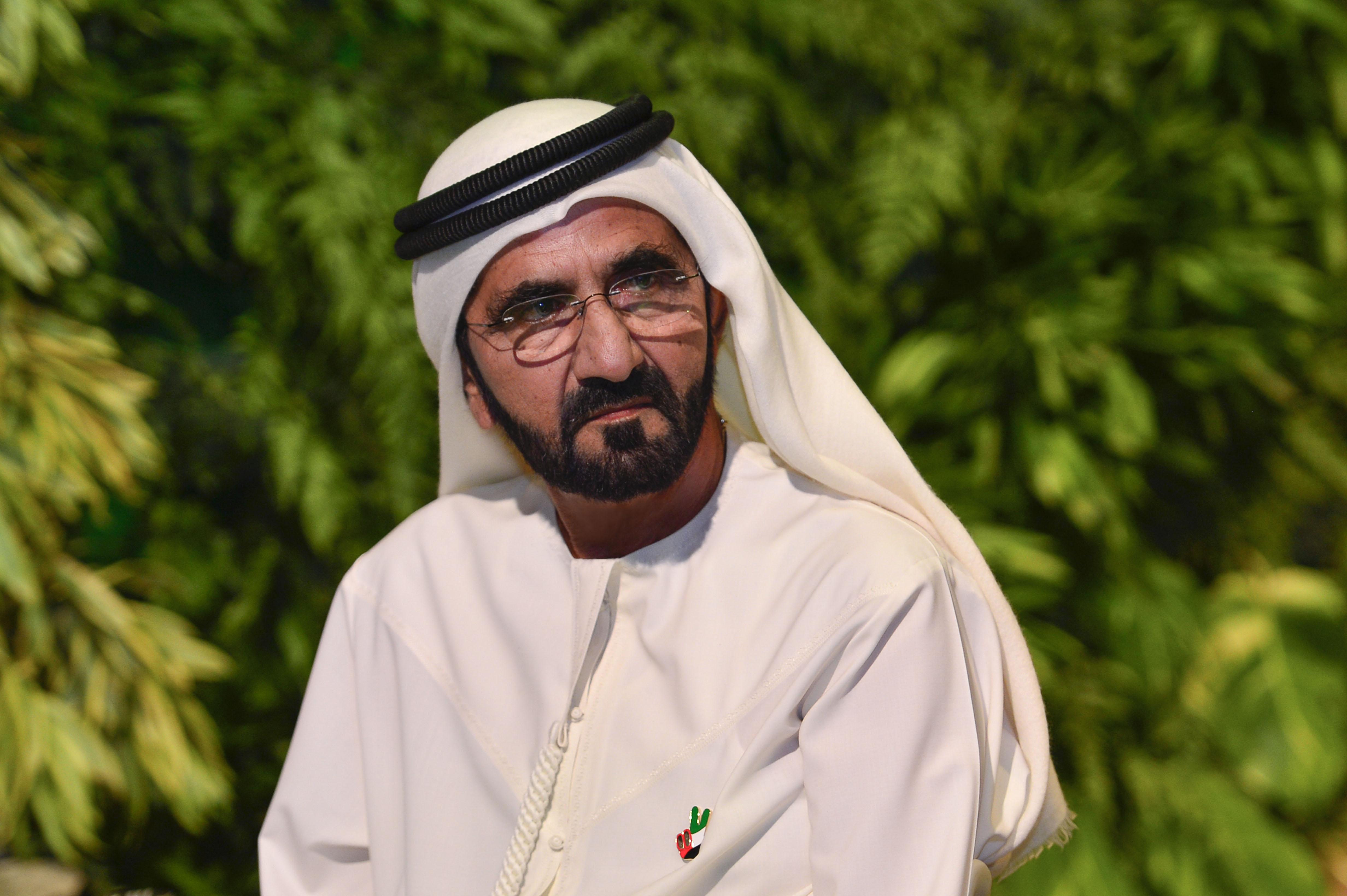 صاحب السمو الشيخ محمد بن راشد آل مكتوم - محمد بن راشد يهنئ ملك المغرب بمناسبة عيد العرش