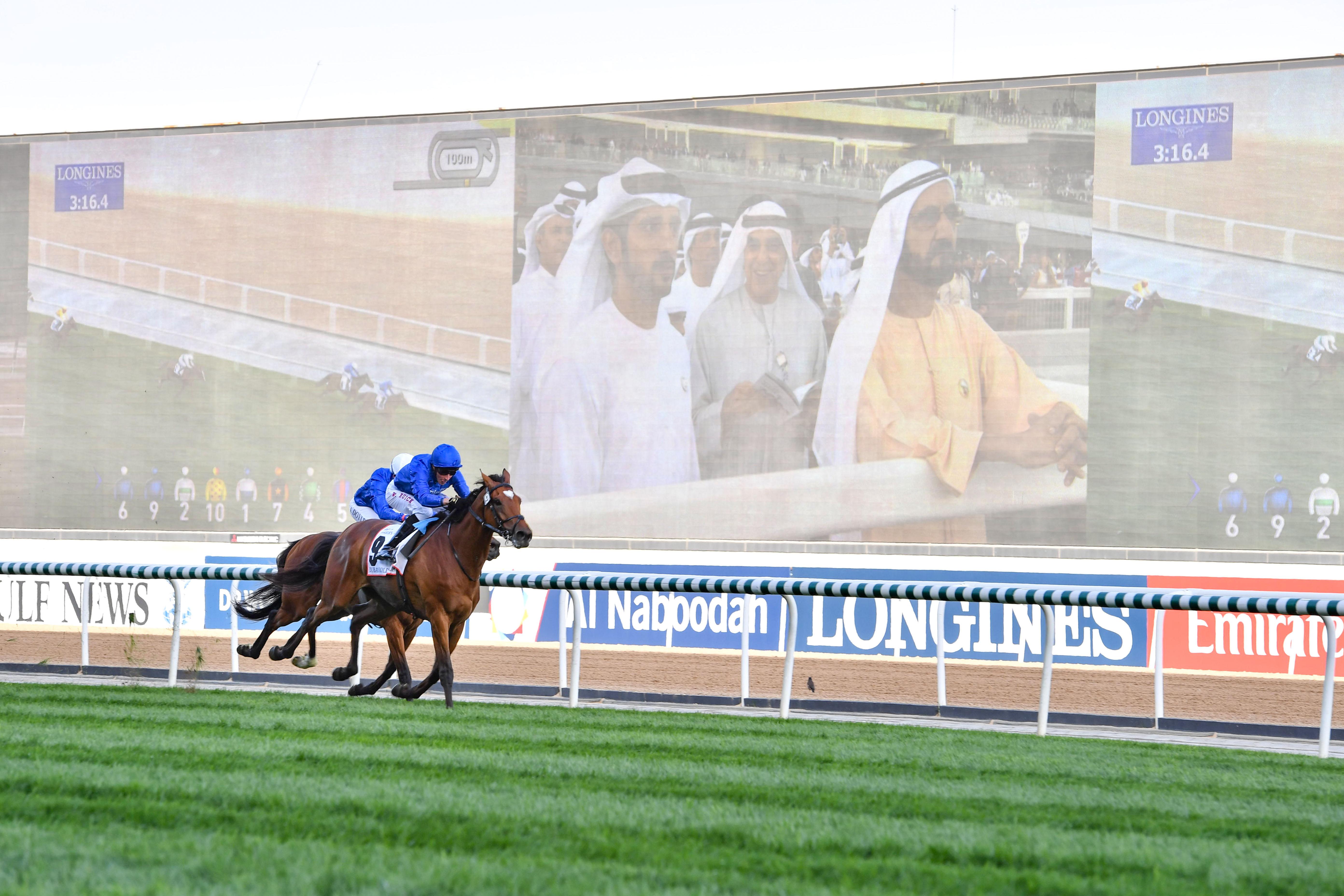 صاحب السمو الشيخ محمد بن راشد آل مكتوم - دبي تواصل تأكيد مكانتها مركزاً عالمياً رئيسياً لرياضات الخيل وسباقاتها