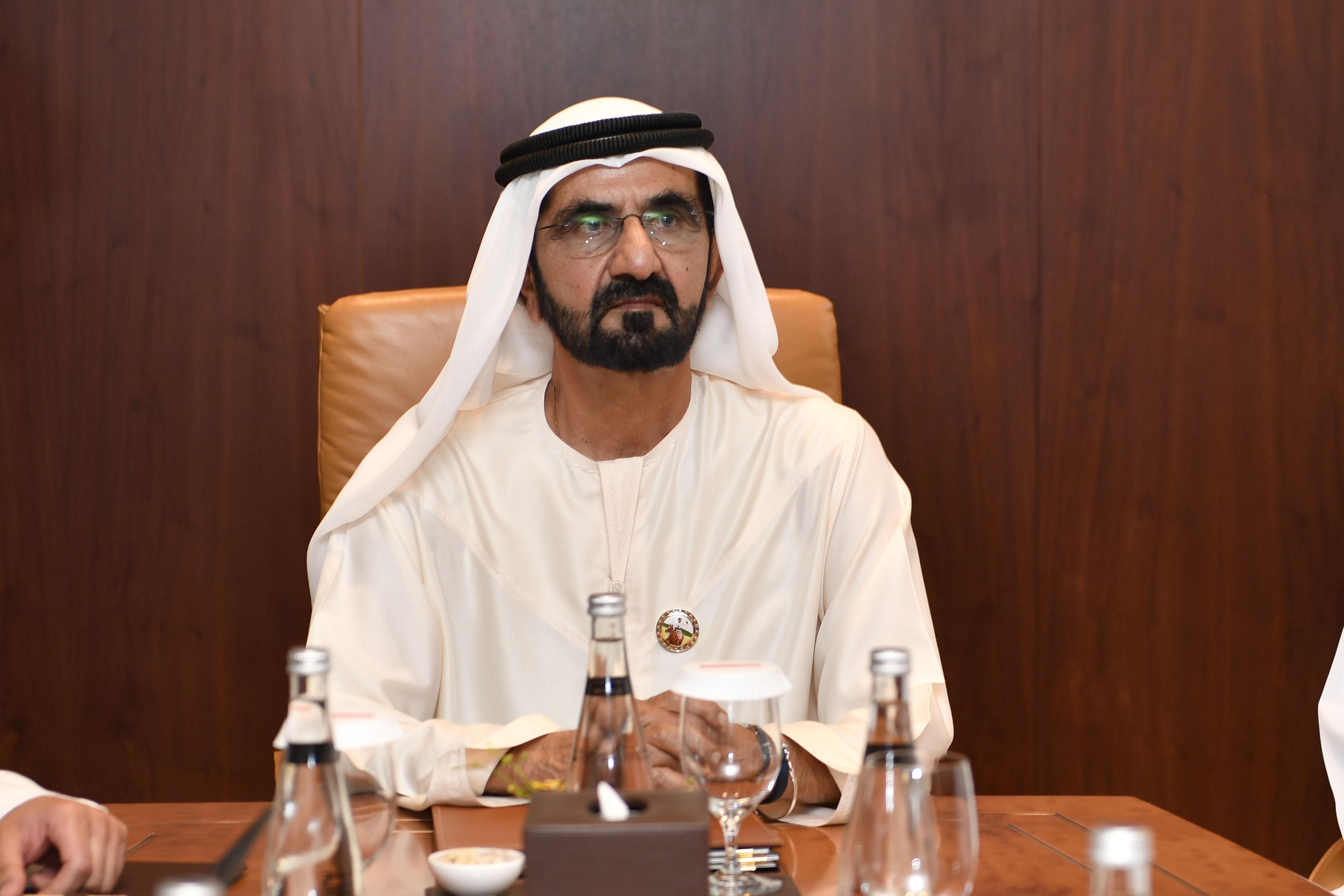 صاحب السمو الشيخ محمد بن راشد آل مكتوم - محمد بن راشد يصدر قانون تنظيم أعمال الصلح في إمارة دبي