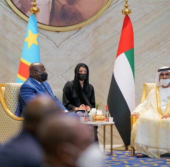صاحب السمو الشيخ محمد بن راشد آل مكتوم - محمد بن راشد يستقبل رئيس جمهورية الكونغو الديمقراطية