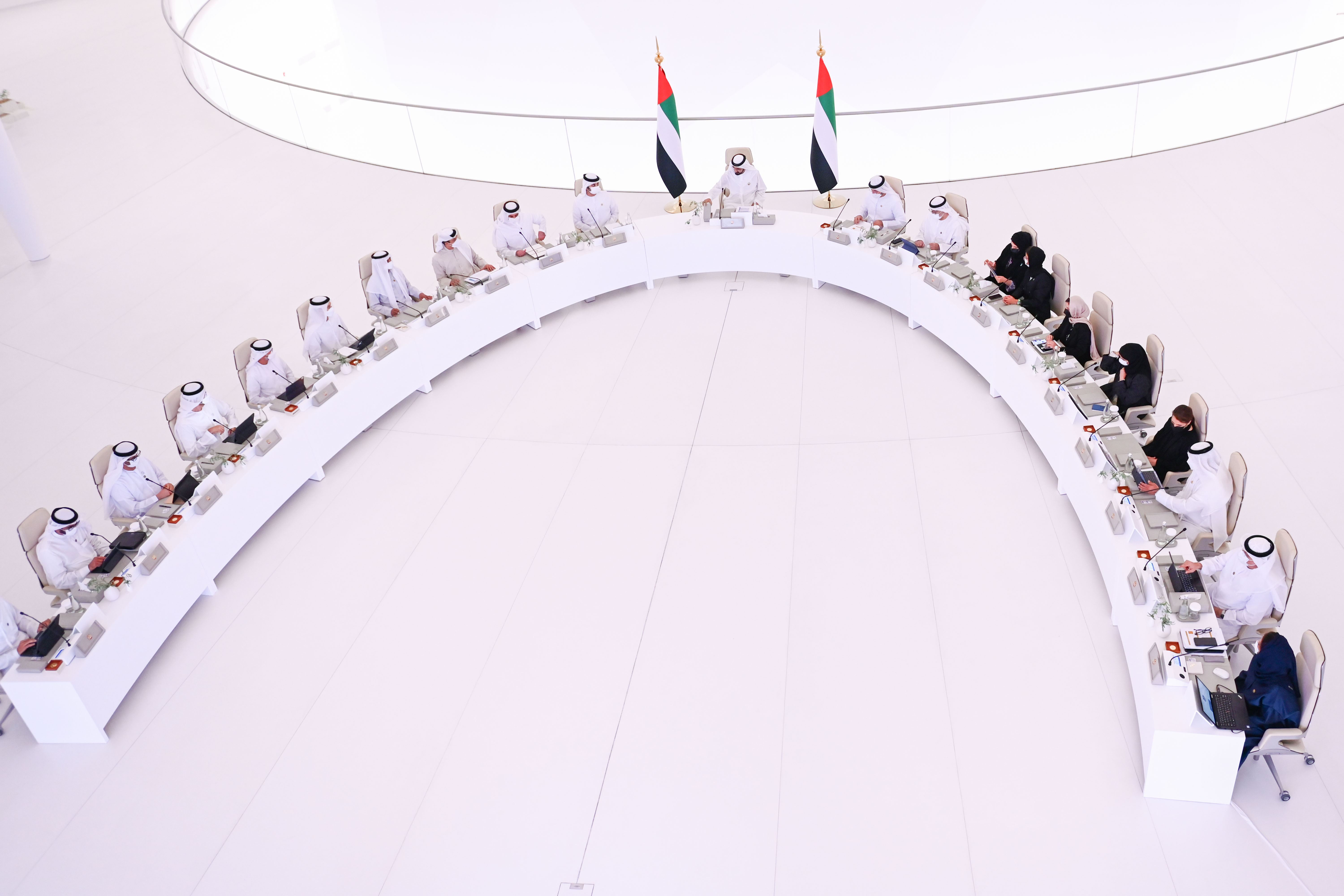 His Highness Sheikh Mohammed bin Rashid Al Maktoum - Mohammed bin Rashid approves UAE General Budget for 2022-2026 with AED290 billion expenditures