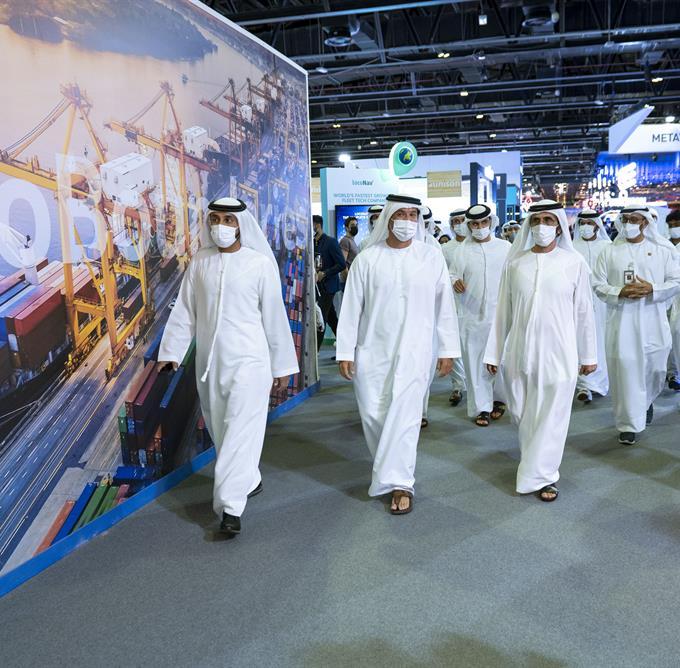 His Highness Sheikh Mohammed bin Rashid Al Maktoum - Mohammed bin Rashid tours 41st edition of GITEX GLOBAL x Ai Everything