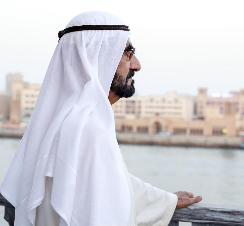 صاحب السمو الشيخ محمد بن راشد آل مكتوم - هو لغز موضح وخفي