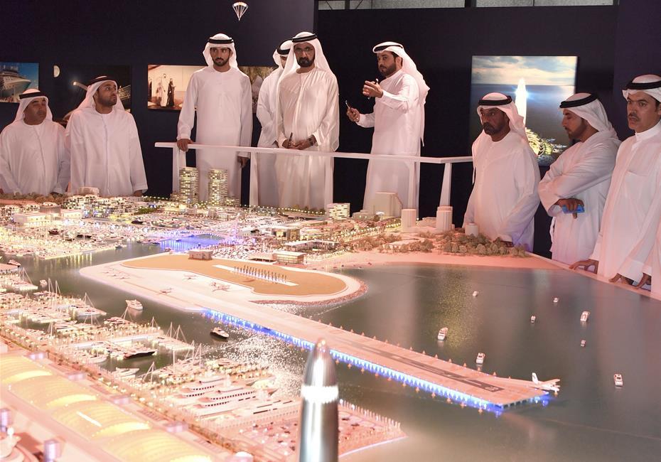 His Highness Sheikh Mohammed bin Rashid Al Maktoum-News-Mohammed bin Rashid announces development of 'Dubai Harbour'