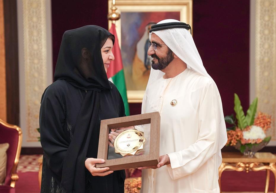 His Highness Sheikh Mohammed bin Rashid Al Maktoum-News-Mohammed bin Rashid honours winners of the Gender Balance Index